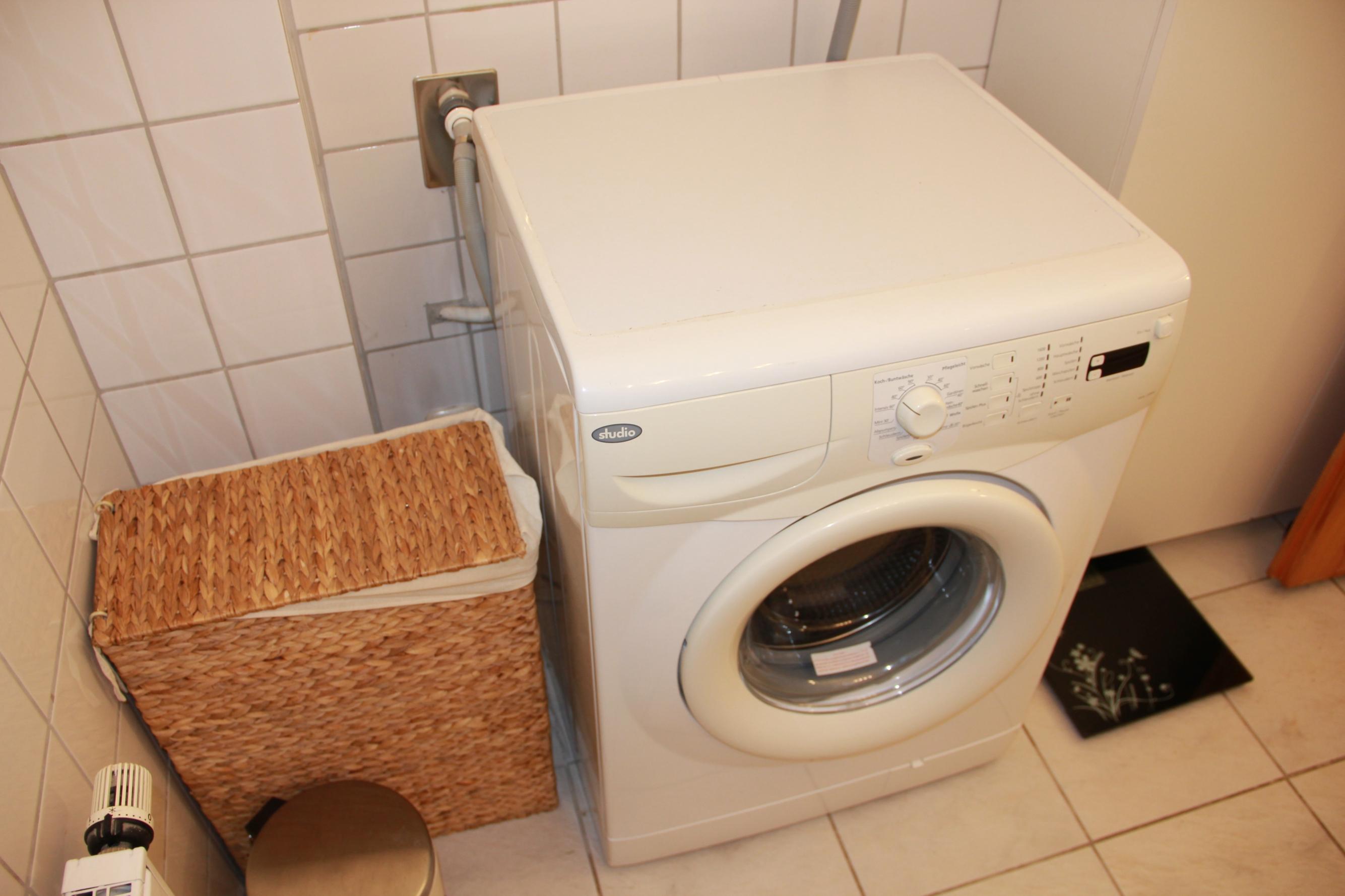 Waschmaschine im Ferienhaus GoWatt